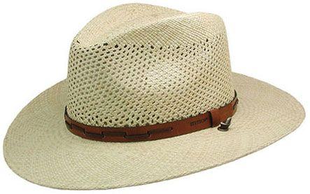 Stetson Airway Straw Hat  d453a4d275