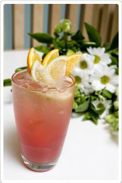 Raspberry Kiss // Add Wild Roots Red Raspberry Vodka