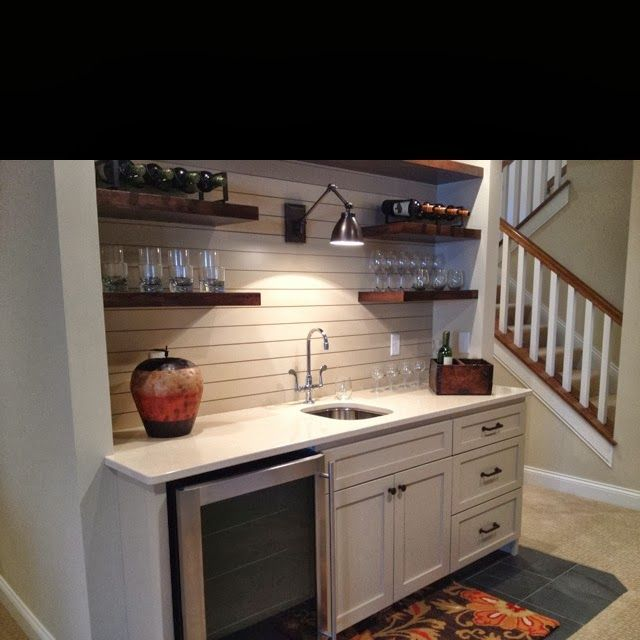 Bar Area Designs: Wet Bar Area For Downstairs