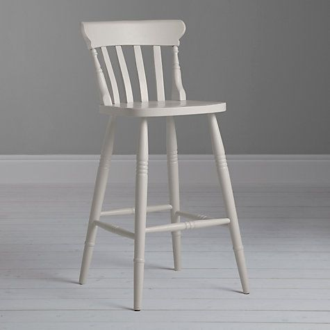 John Lewis Croft Collection Cecile Bar Chair Grey