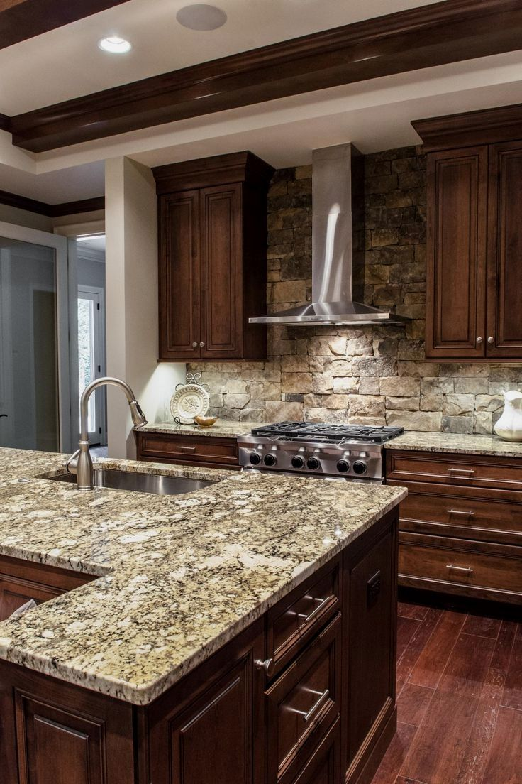 9 Dark Wood Kitchen Designs for that Classy Touch   Rustic ...