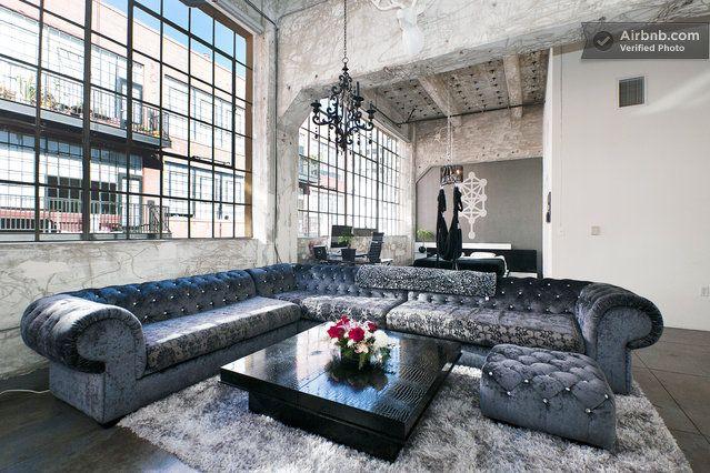 Gorgeous Chic Modern Loft Dtla In Los Angeles Modern Loft Vacation Home Condo