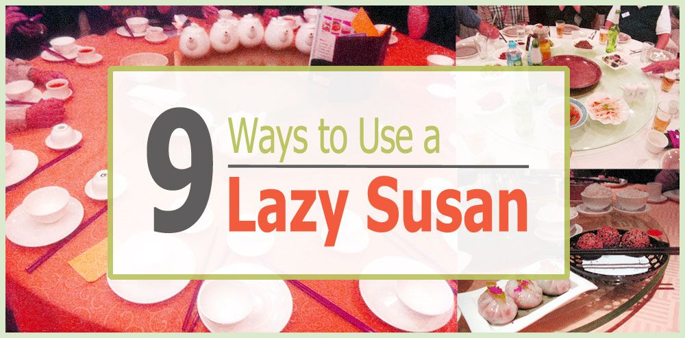 TIP Usually a kitchen storage item, here are 9 ways to think outside the box and use a lazy Susan to improve access.  Don't delay, start today Sara  http://www.organizeit.com/blog/lazy-susans-9-uses/