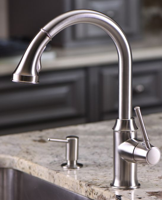 hansgrohe Kitchen faucets: Talis C, Talis C 2-Spray HighArc ...