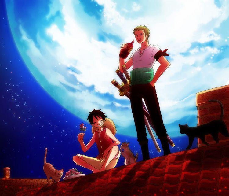 Luffy x Zoro | ♚ One piece yaoi ♚ | One piece, Zoro one