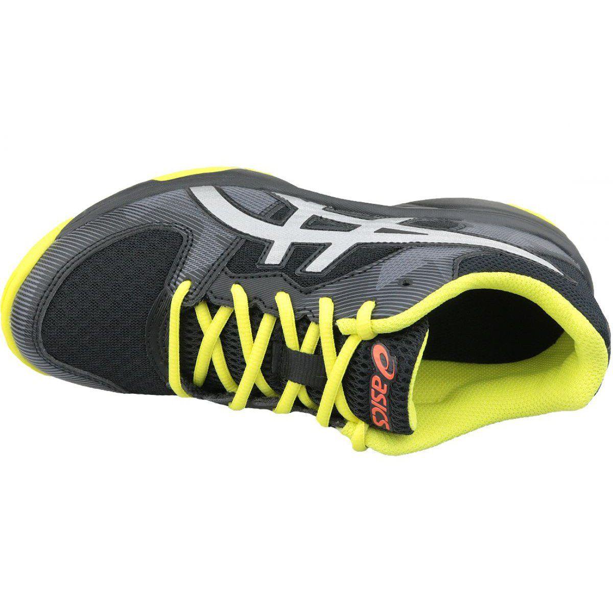 Buty Do Siatkowki Asics Gel Tactic Gs Jr 1074a014 001 Czarne Czarne Volleyball Shoes Asics Asics Gel