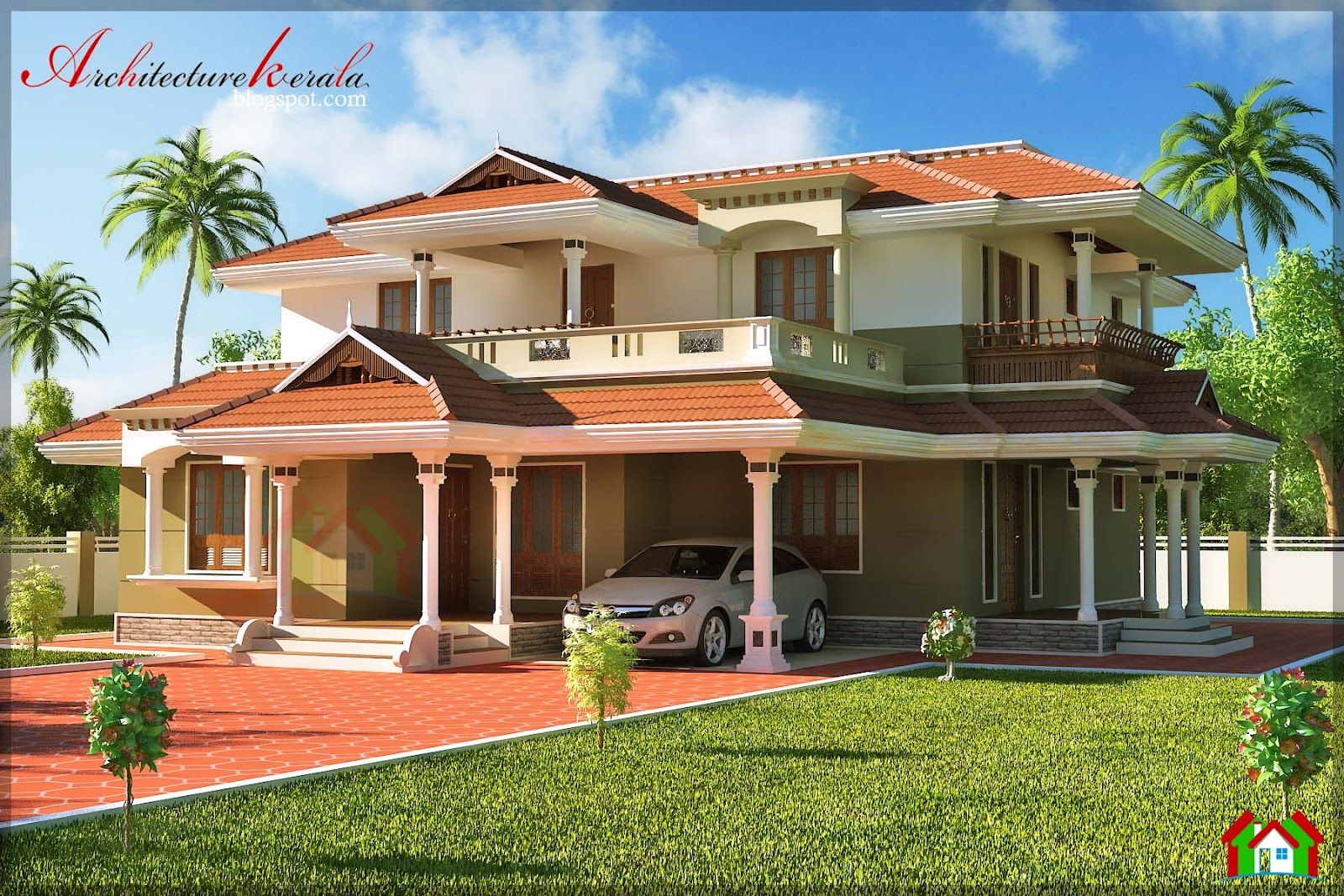 Plans for houses in kerala style