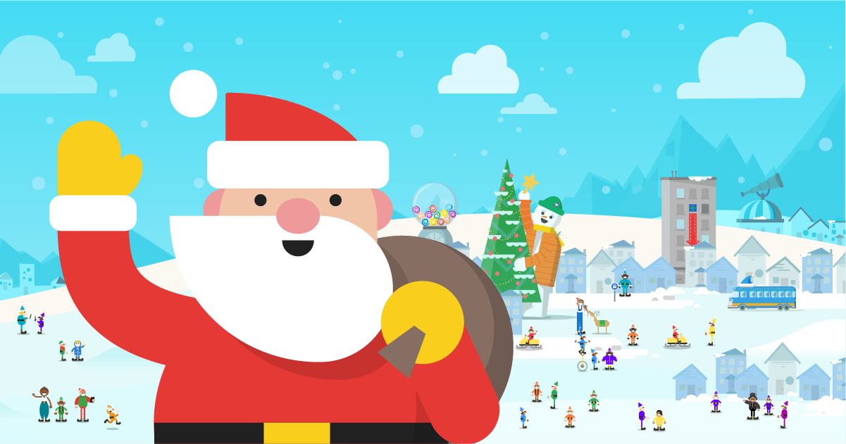 Use Google Santa Tracker To Follow Santa Claus On Google