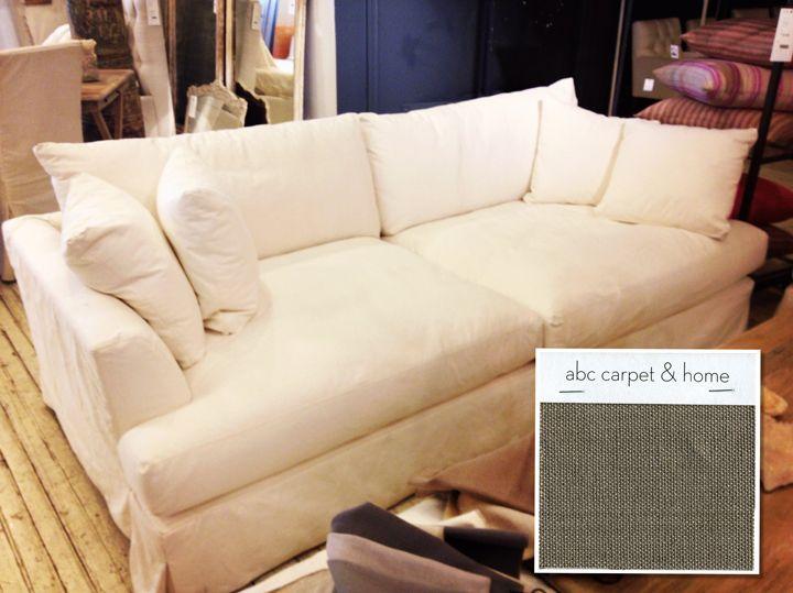 {extra}ordinary Wonders: Cozy Sofa / Cobble Hill Marthau0027s Vineyard Slipped  Sofa And