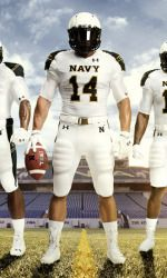 73951bd1695 Under Armour Releases Navy Football Uniform for Ohio State Game Navy will wear  special uniform inspired by Navy s Summer Whites military .