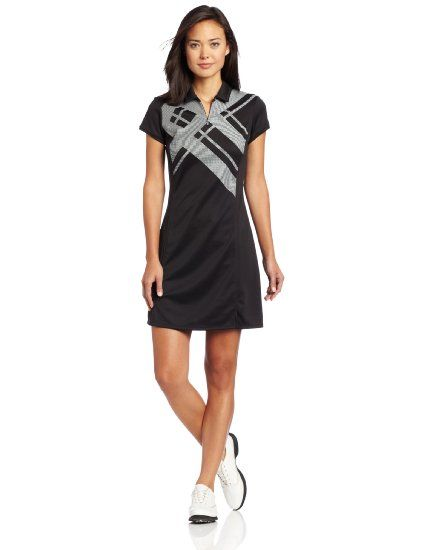90af12dc227 Amazon.com: Adidas Golf Women's Argyle Printed Dress: Clothing ...
