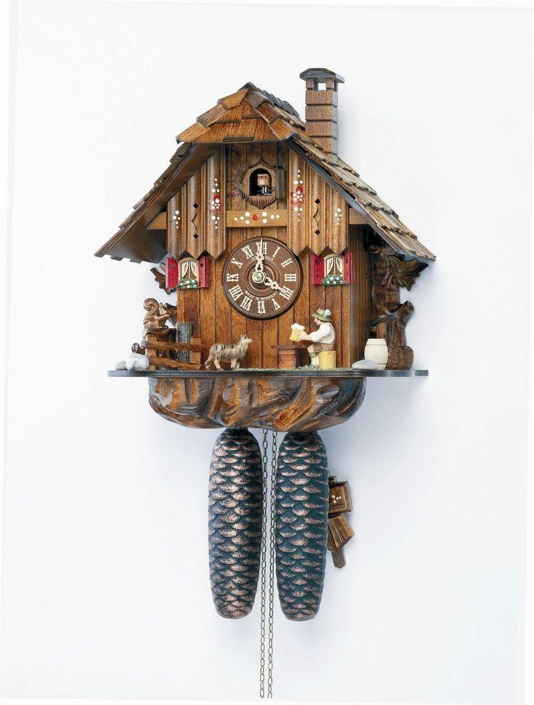 Model ##8T 1123/10 Original Black Forest house cuckoo ...