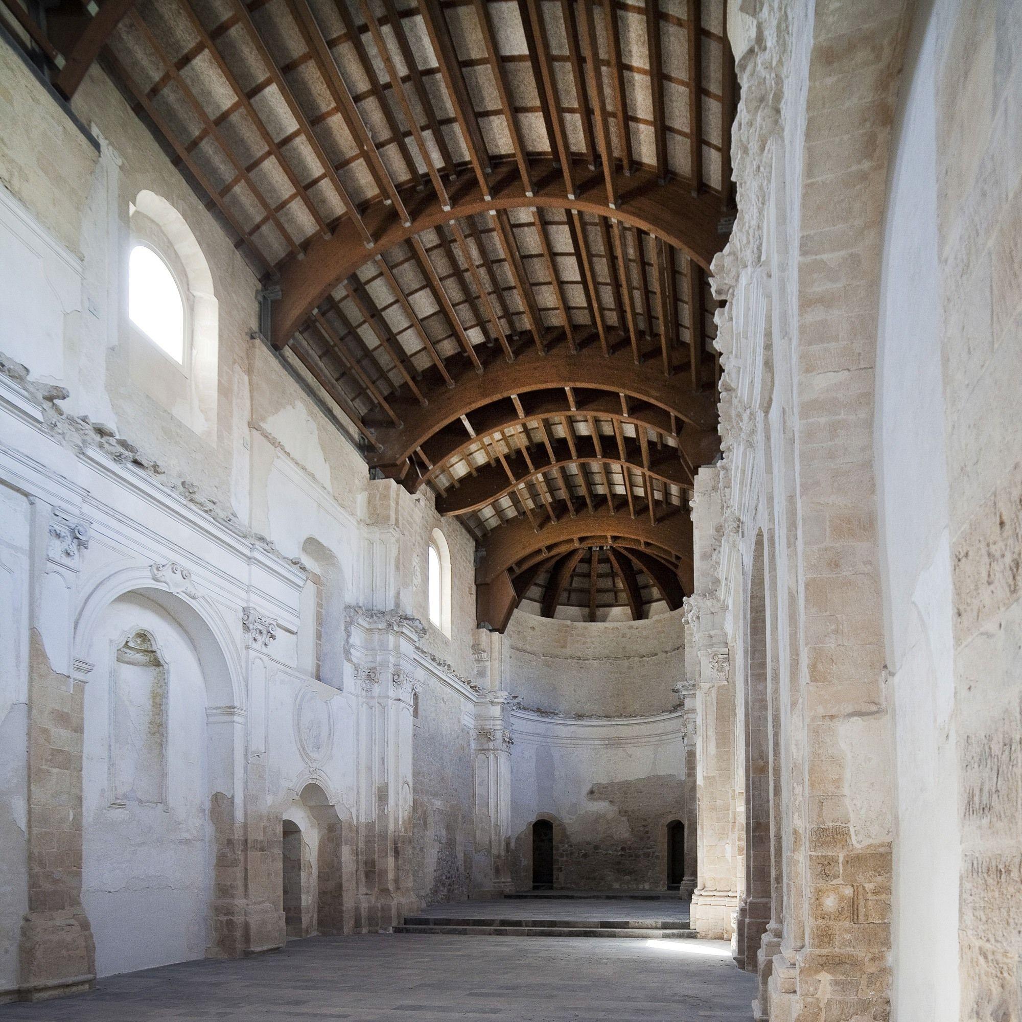 Complesso Conventuale Di Santa Maria Del Gesu Picture Gallery Conservation Architecture Architecture Roof Architecture