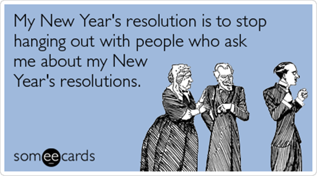 My Anti-New Year\'s Resolution for 2013 | Funny | New years ...