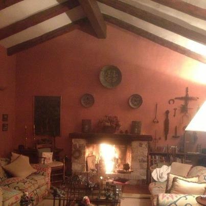 Chimenea casa de campo arquide estudio chimeneas - Chimeneas de campo ...