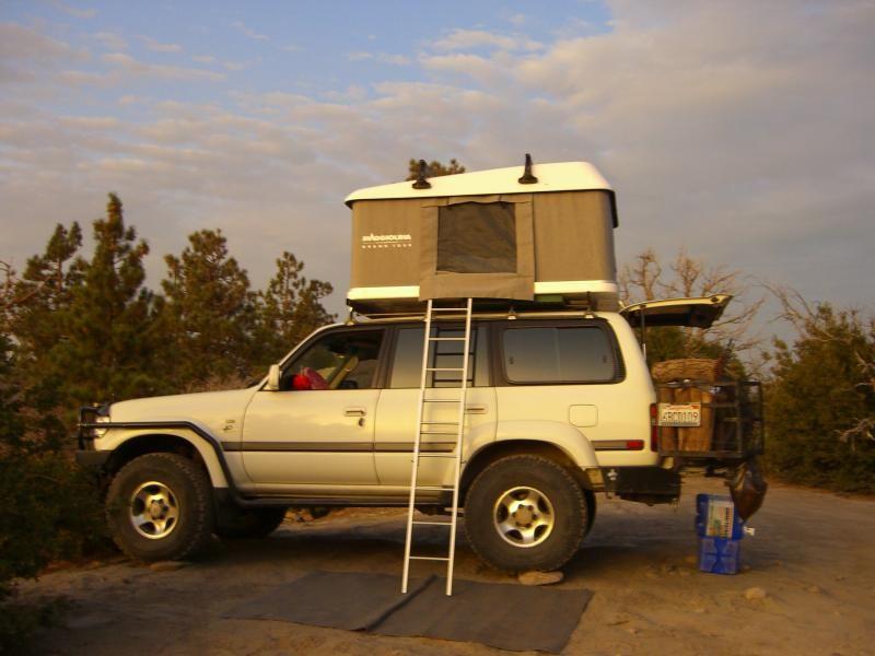 Fj80 With Maggolina Roof Top Tent Land Cruiser Cool Rvs Land Cruiser 80