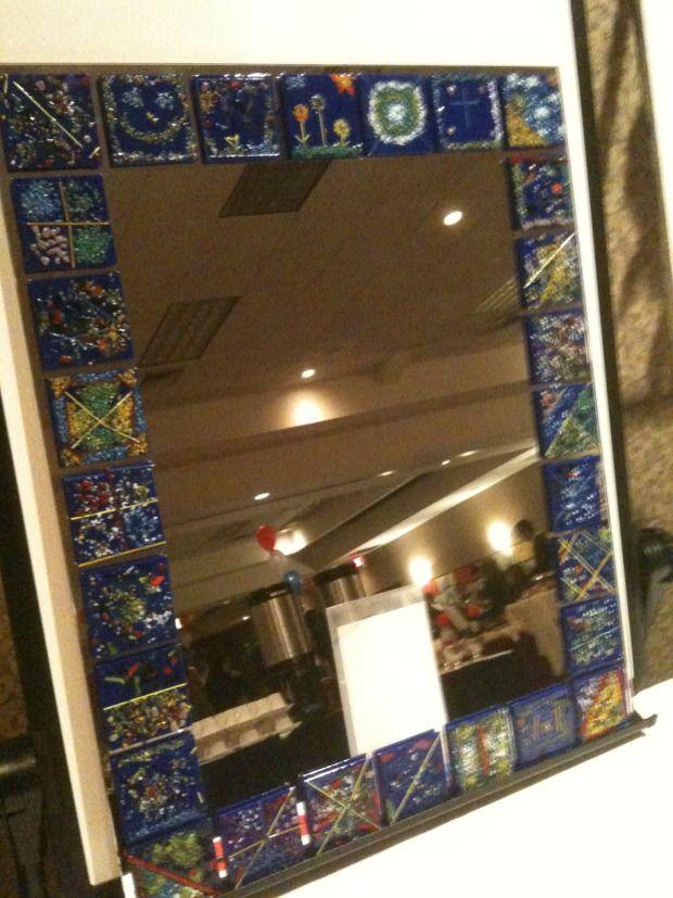 Classroom auction idea. | kids glass | Pinterest | Marcos cuadros ...