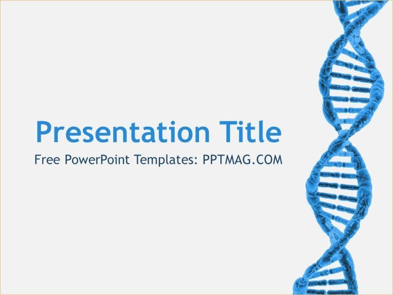 Dna Ppt Template Dna Ppt Template Bioinformatics Ppt
