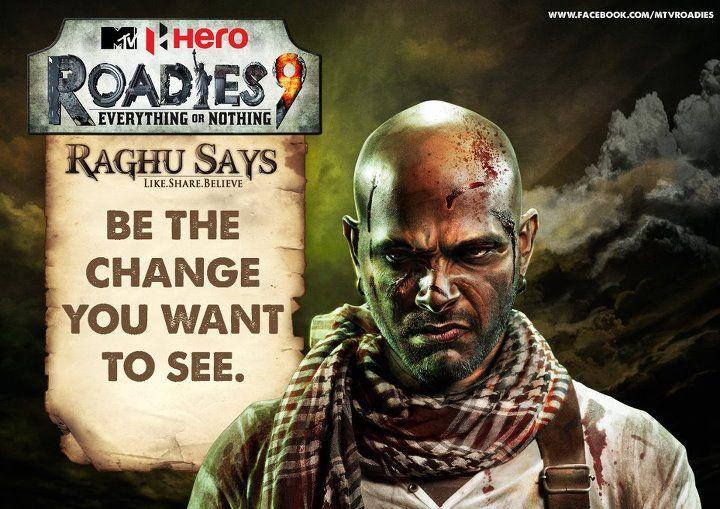 Raghu Roadies Book