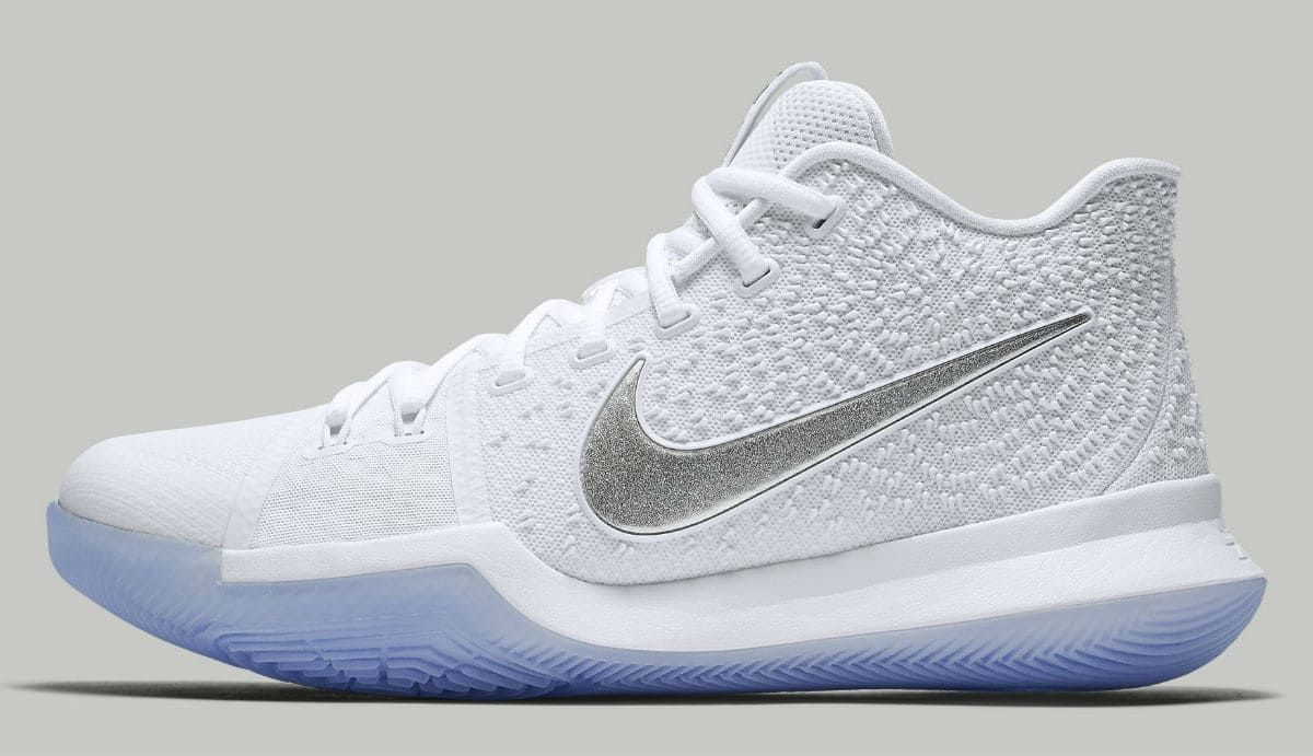 reputable site a4799 64379 Nike Kyrie 3 Chrome Release Date Profile 852395-103 | Men's ...