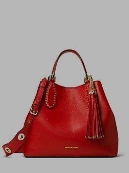 Michael Kors Brooklyn Large Leather Tote Shared by Career
