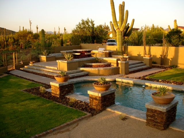 Luxury southwest pool and patio design. | Build Your Own ...
