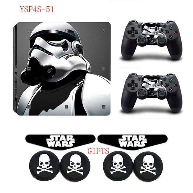 Ps4 Slim Console Skin Star Wars Collection Star Wars Ps4