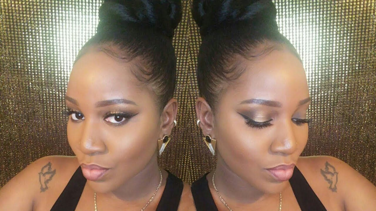 How To Large Top Knot Bun Tutorial With Braiding Hair Youtube Braided Bun Hairstyles Hair Styles Natural Hair Styles