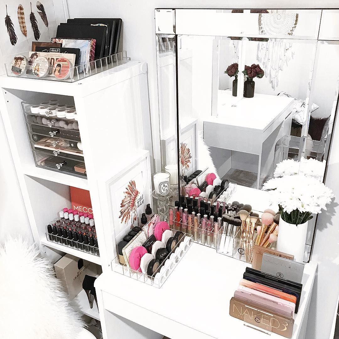 How To Organize & Display Makeup Product In Cool Ways in