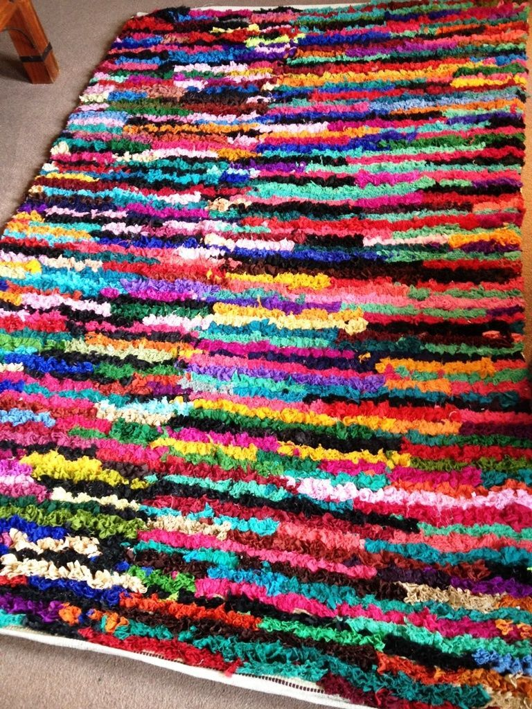 Multi Colours Rug Or Runner Mat