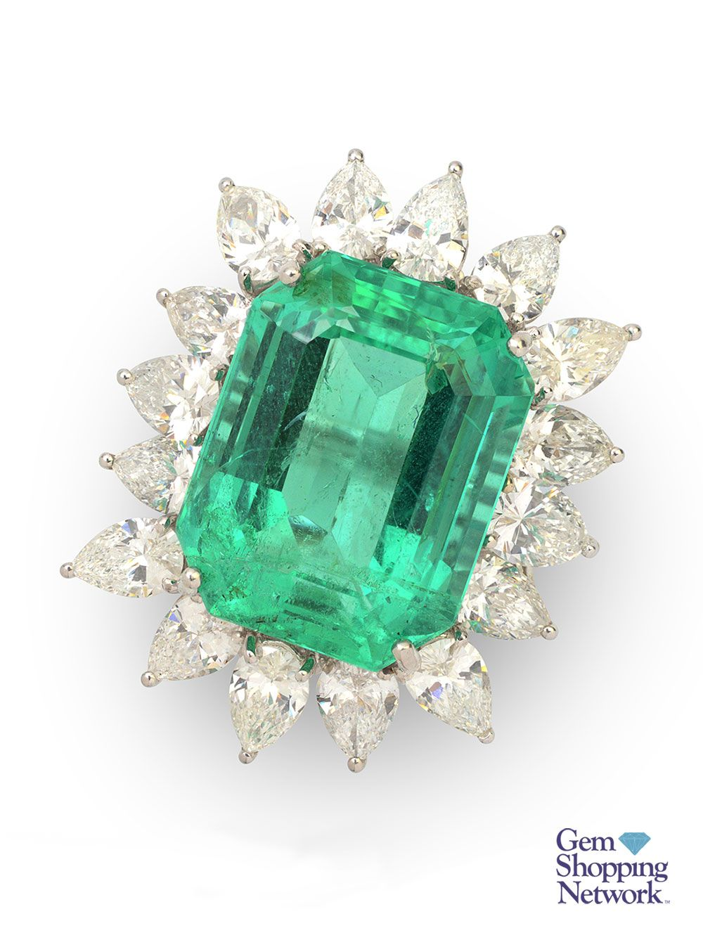 Green emerald ring  If you love being surrounded by