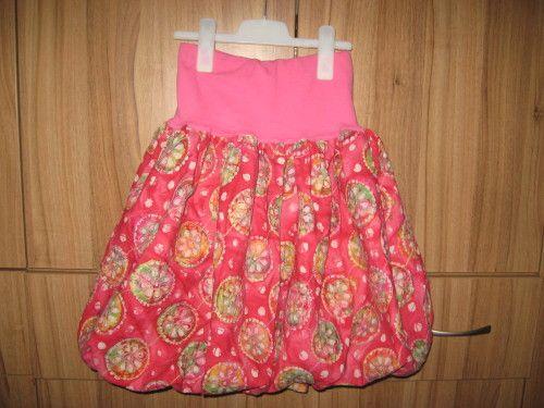8a2086d11af Balonová sukně - střih + fotonávod