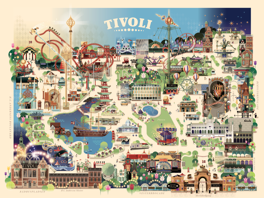 Tivoli gardens copenhagen great place to take the kids lots of park gumiabroncs Image collections