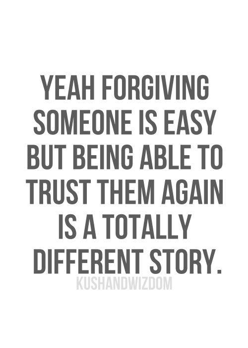 A Broken Trust Trust Doesnt Come Back Quotes Quotes