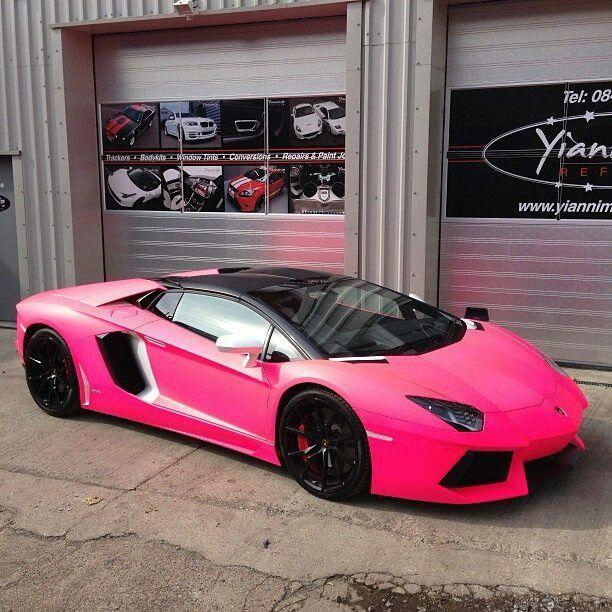 pink lamborghini may we add a little glitter