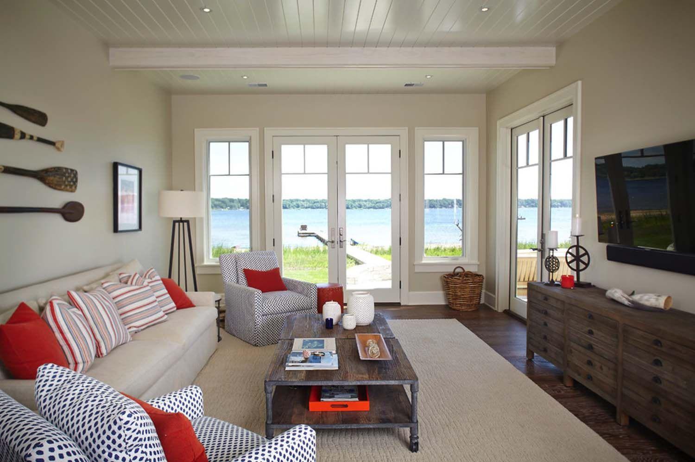 Dreamy beach style cottage getaway in white lake michigan lake