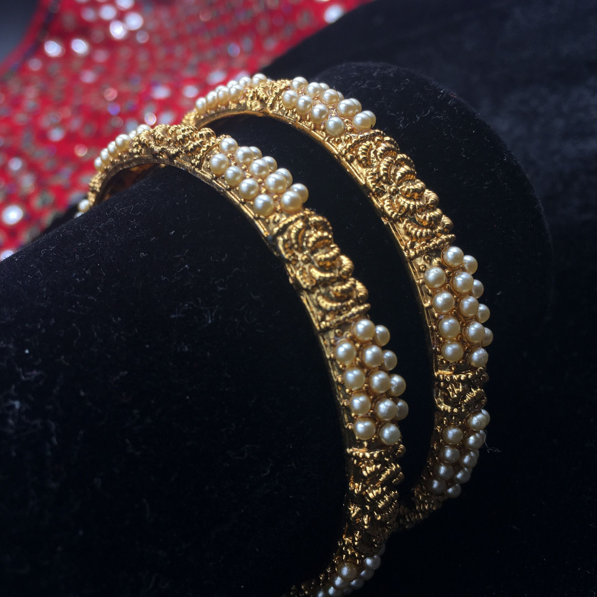 pretty white products bangles gold stone comp womens for plated asmitta women fancy kada