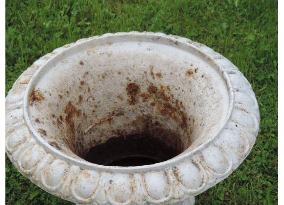 Paire de vasques anciennes de jardin en fonte | Products en ...