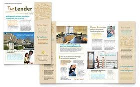 Mortgage Broker Newsletter Template With Images Newsletter