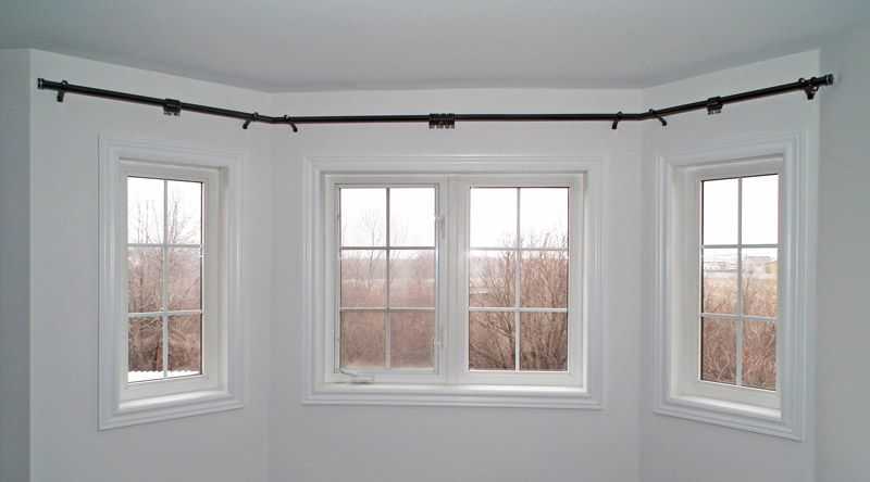 Bay Window Curtain Rods 3 Bay Window Curtains Bay Window