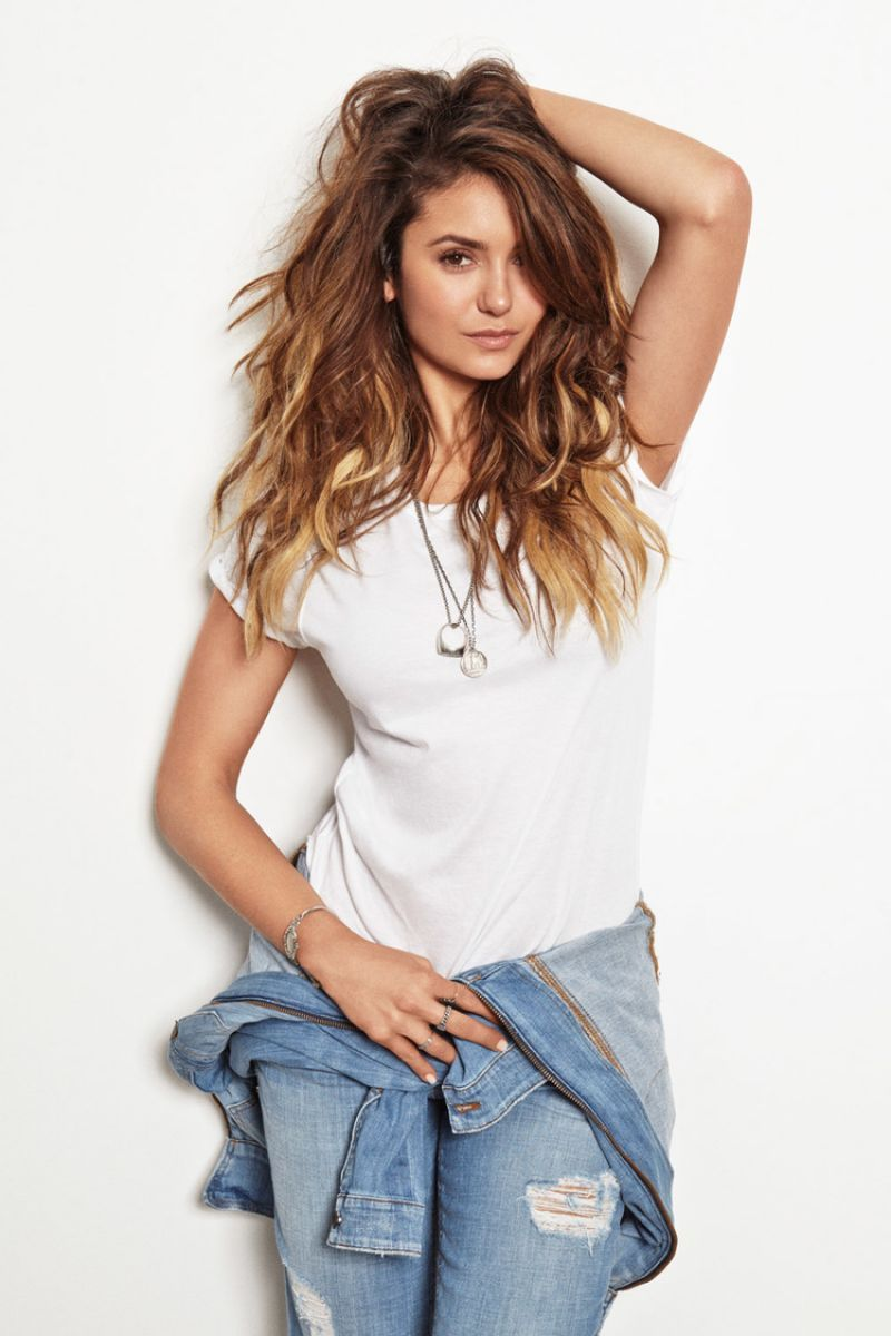 Nina Dobrev Nylon Magazine August 2014 Issue 1 800—1 200 Pixels