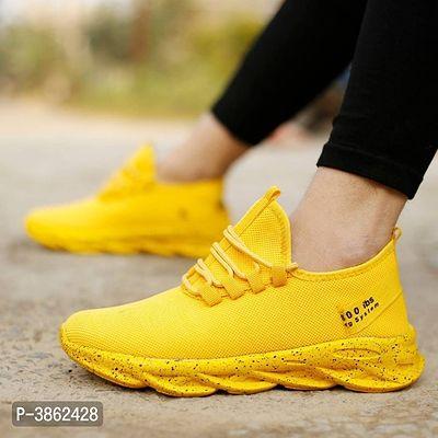 Trendy Yellow Running \u0026 Walking Sports
