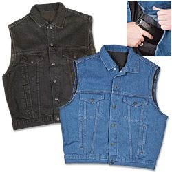 NRA Concealed Carry Denim Vest