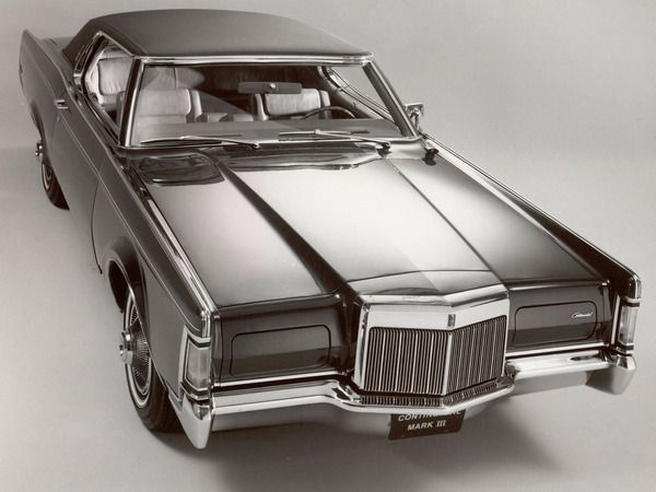 Lincoln Continental Mk Iii One Of The Only Ford Brand Automobiles