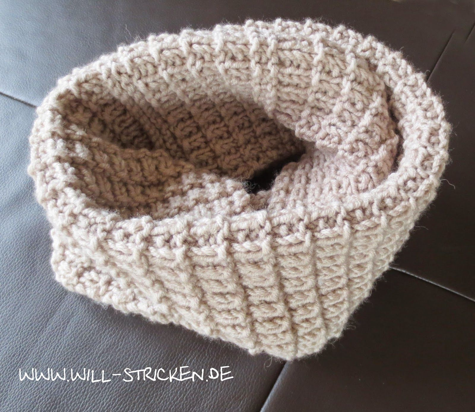 Loop stricken kostenlose Strickanleitung | Stricken | Pinterest ...