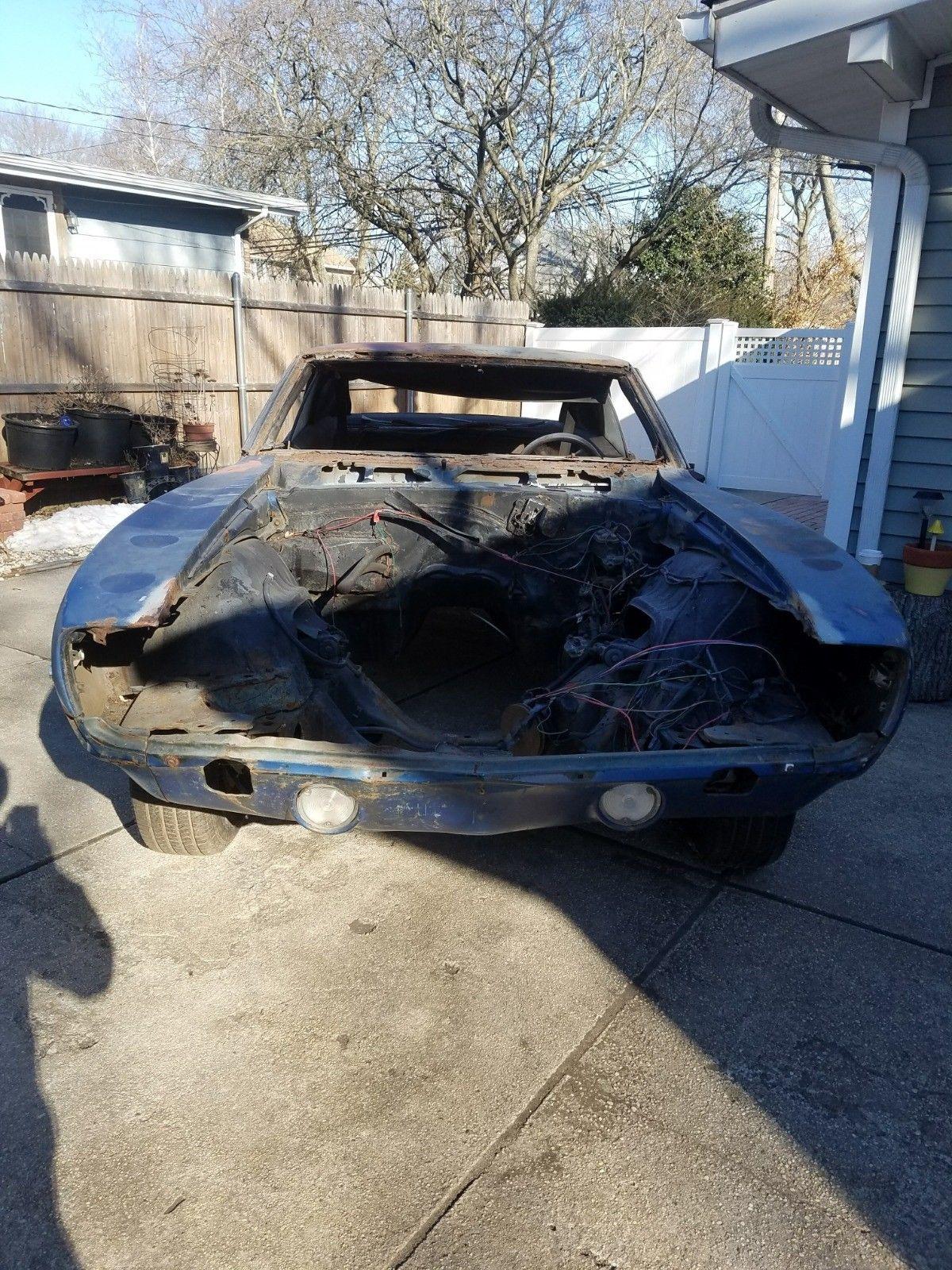 extra parts 1969 Chevrolet Camaro project