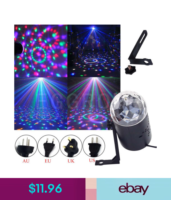 Stage Lighting Fixtures Home Garden Xmas Party Lamp Light Disco Party