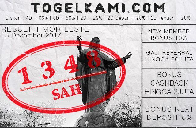 Result Togel Timor Leste Situs Bandar Dan Agen Togel Online