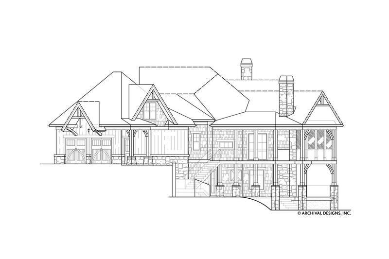 Harmony Ranch Rustic Floor Plan Mountain House Plans Archival Designs House Plans Ranch House Ranch House Plan