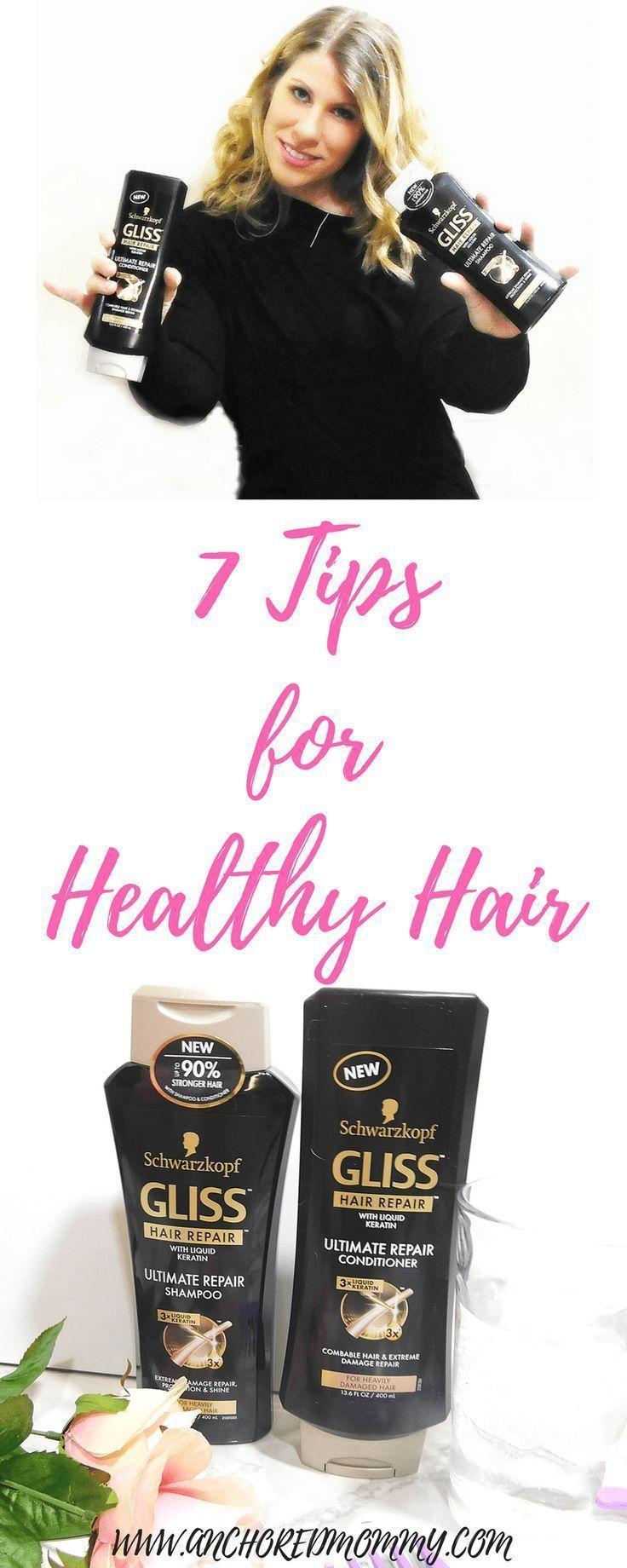 7 Tips for Healthy Hair Healthy hair tips, Hair repair
